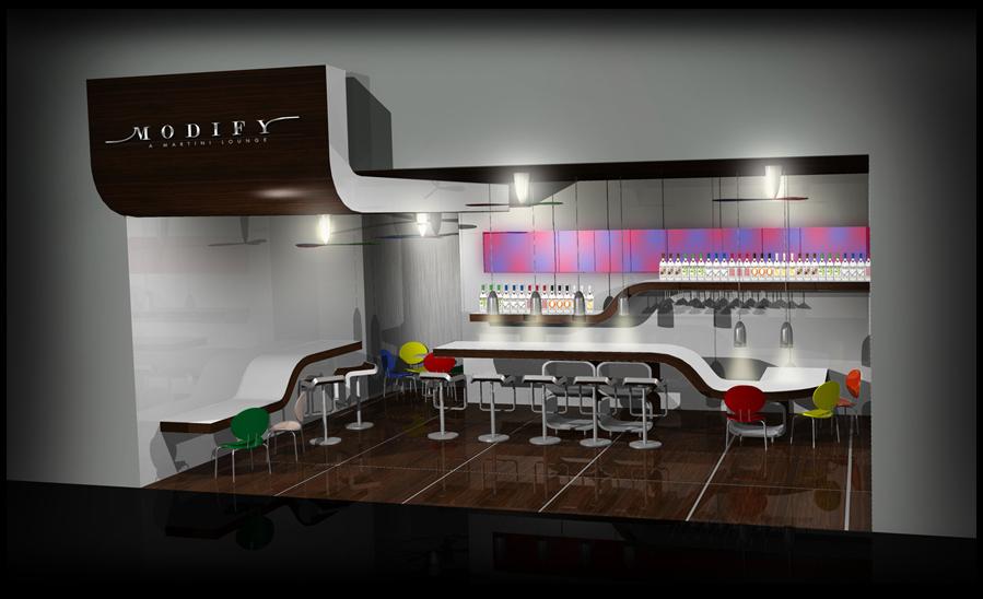 Bacardi Modify Bar Concept