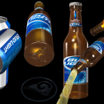 Bud Light Bottle and Can Concepts