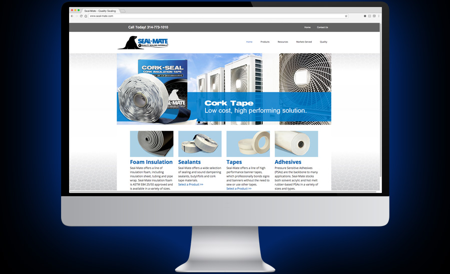 Seal-Mate Website Design and Development