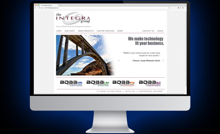 The Integra Group Website Development